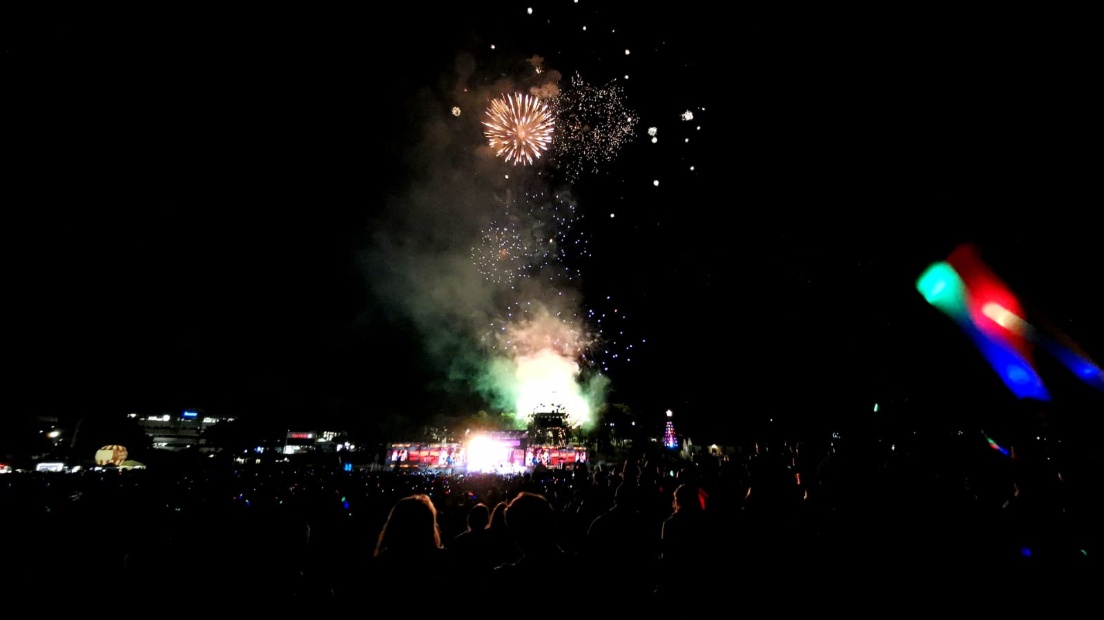 Christmas in the park 2019 Auckland 3